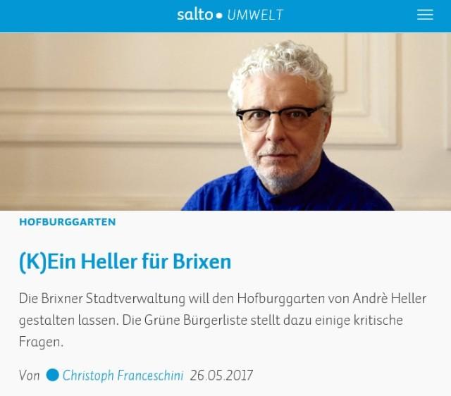 Kein Heller fuer Brixen