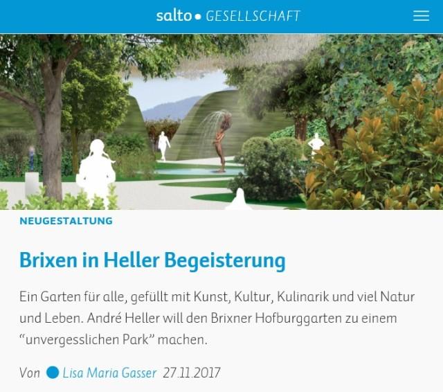 SALTO_Brixen begeistert